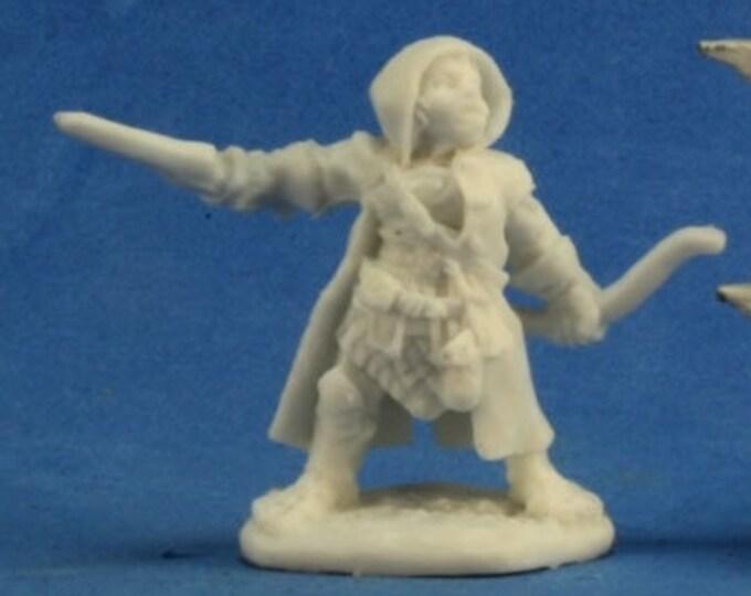 77218: Woody Stumpwimple, Halfling Ranger - Reaper Miniatures