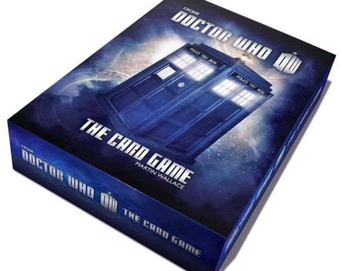 The Doctor Who Card Game (Second Edition) - Cubicle 7 Entertainment
