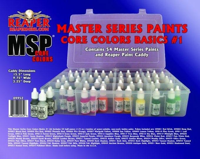 09952: Master Series Core Colors Basics #1 - Reaper Miniatures