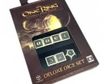 The One Ring RPG: One Ring Deluxe Dice Set - CB71020 - Cubicle 7 Entertainment