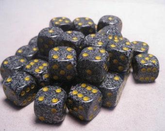 Urban Camo Speckled 12mm d6 (36) - CHX25918 - Chessex
