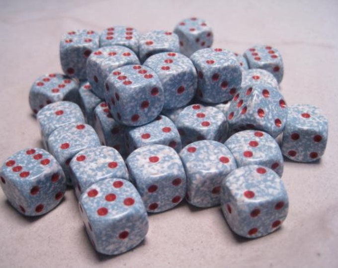 Air Speckled 12mm d6 (36) - CHX25900 - Chessex
