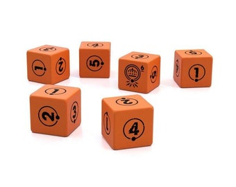 Tales from the Loop RPG: Dice Set (2019 Design, Set of 10) - Modiphius Entertainment
