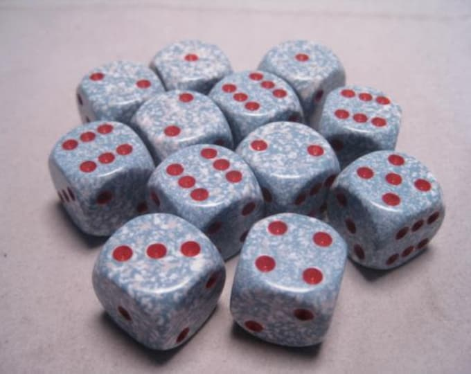 Air Speckled 16mm d6 (12) - CHX25700 - Chessex