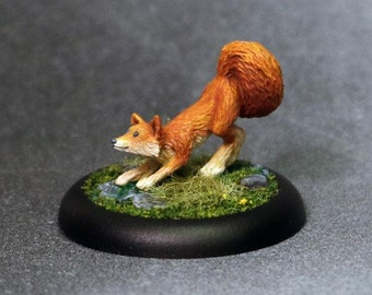60026: Sidekicks - Friskers the Fox - Bombshell Miniatures