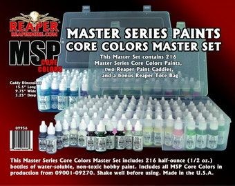 09956: Master Series Core Colors Master Set - Reaper Miniatures