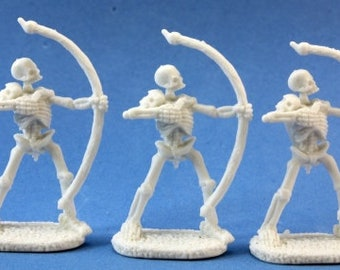 Skeletal Archer (3) - 77018 - Reaper Miniatures