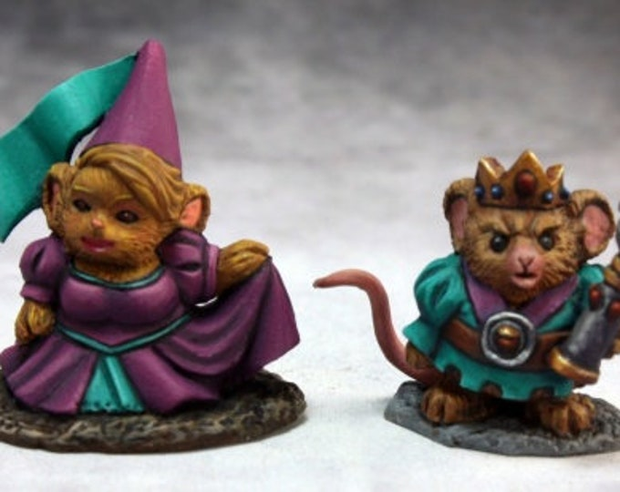 Mousling King and Princess - 03740 - Reaper Miniatures