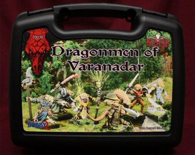 10030: Dragonmen of Varanadar - Reaper Miniatures