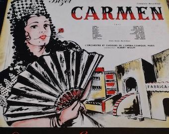 1951 Carmen - Vinyl Record London Gramophone Corporation
