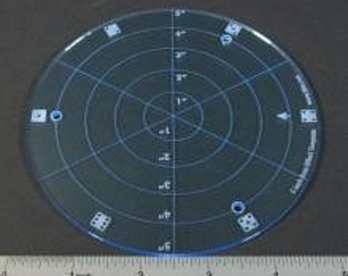 5'' Diameter Area Template - LITKO Game Accessories