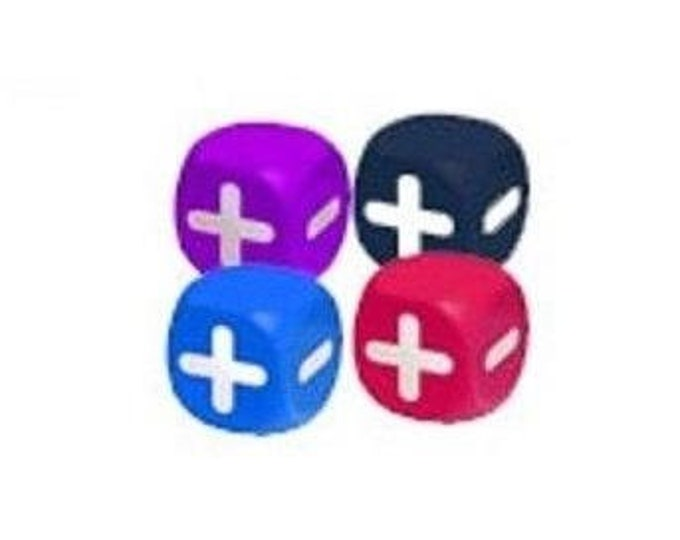 Squishy Fudge Dice Set - MNISD6F - Minion Games