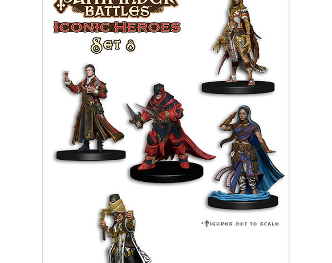 Pathfinder Battles: Iconic Heroes 8 Box - 72413 - WizKids