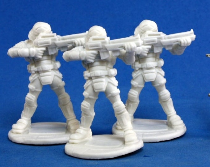 Nova Corp Guards (3) - 80011 - Reaper Miniatures