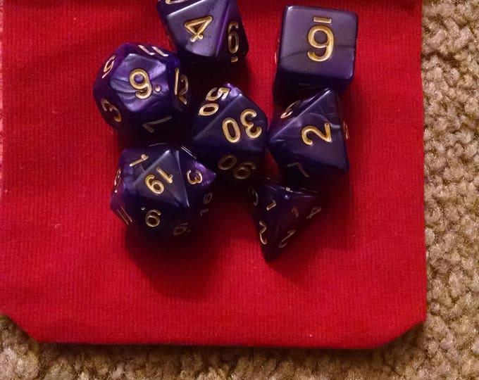 Noble Merchant - 7 Die Polyhedral Set