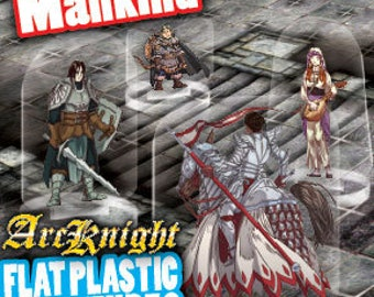 Flat Pack Miniatures: Mankind - ArcKnight