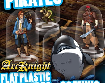 Flat Pack Miniatures: Pirates - ArcKnight