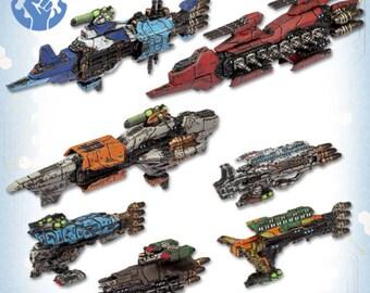 Dropfleet Commander: Resistance Starter Fleet - TTCombat