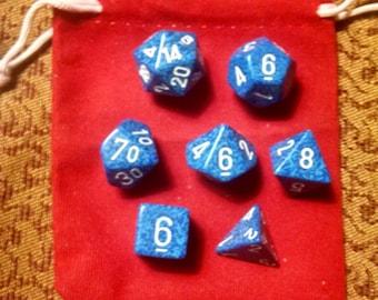 Rushing Water - 7 Die Polyhedral Set