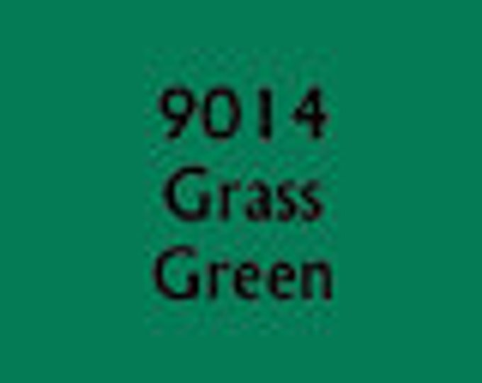 09014: Grass Green - MSP Core Colors - Reaper Miniatures