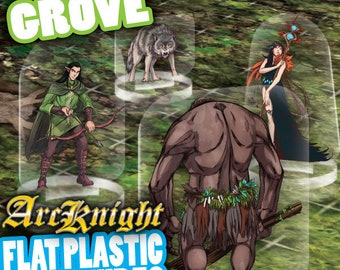 Flat Pack Miniatures: The Grove - ArcKnight