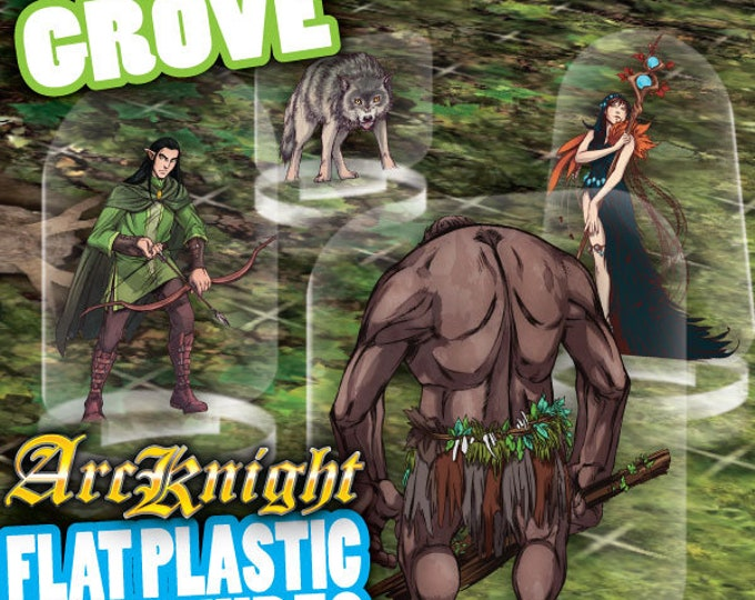 Flat Pack Miniatures: The Grove Horde - ArcKnight
