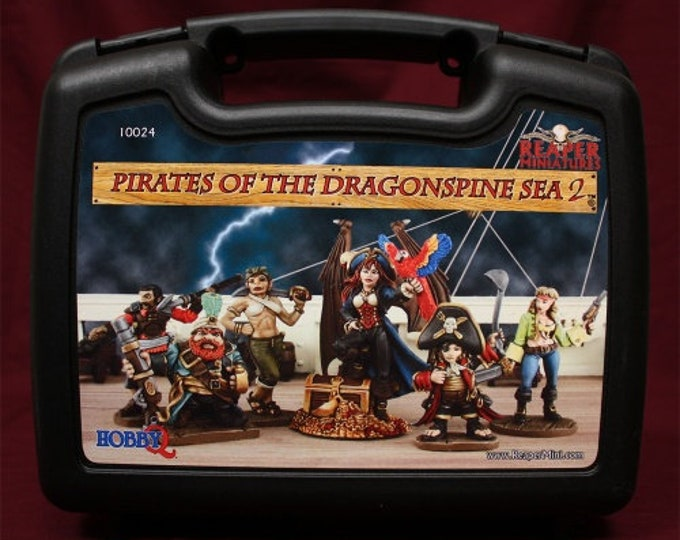 10024: Pirates of the Dragonspine Sea II - Reaper Miniatures