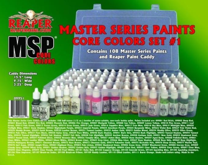 Reaper 09951: Master Series Core Colors Set #1 - Reaper Miniatures