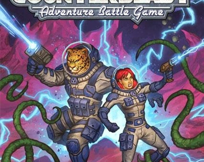 Counterblast Adventure Battle Game: Core Rulebook - 30001 - Bombshell Miniatures
