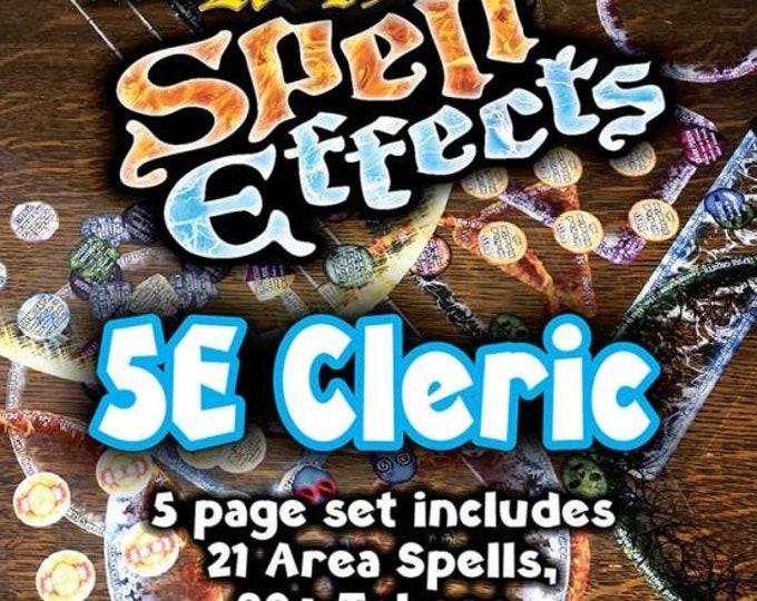 Flat Pack Miniatures: DnD 5e Cleric Spell Effects - ArcKnight