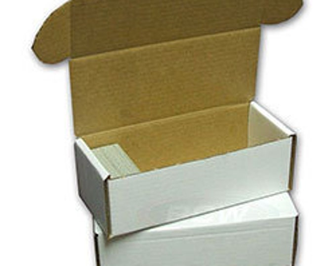 Box: Cardboard 500 (Set of 50) - BCW500 - BCW