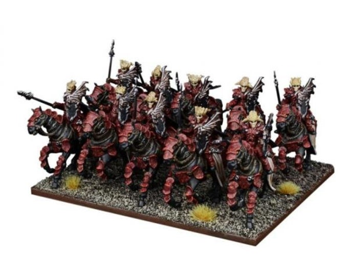 Kings Of War: (Forces Of The Abyss) Abyssal Horsemen - Mantic  Games