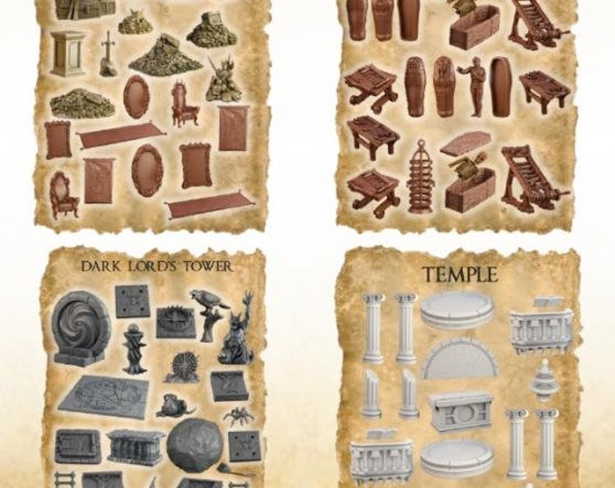 Terrain Crates: Dark Lord's Fortress - Mantic Games (Backorder)