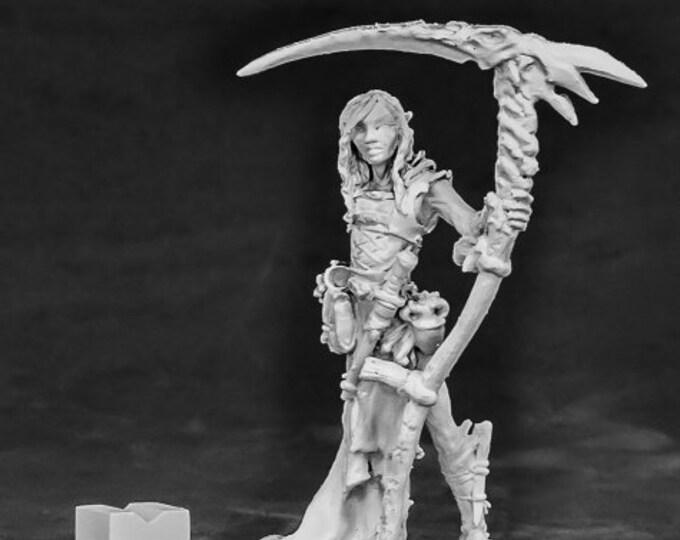 03860: Nimbar, Elf Necromancer - Reaper Miniatures