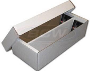 Box: Cardboard 1600 Shoe (Set of 25) - BCW1600 - BCW