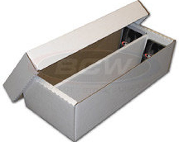Box: Cardboard 1600 Shoe (Set of 25) - BCW1600 - BCW