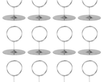 Table Number Holders, 2.25-inch, 12-pack - Back of House Ltd.