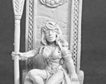 02083: Queen Shanon Stormhand - Reaper Miniatures