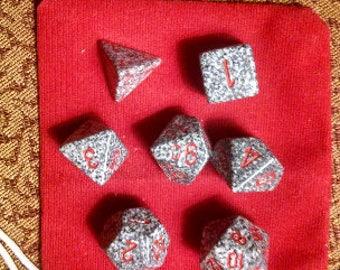 Bloodstone - 7 Die Polyhedral Set