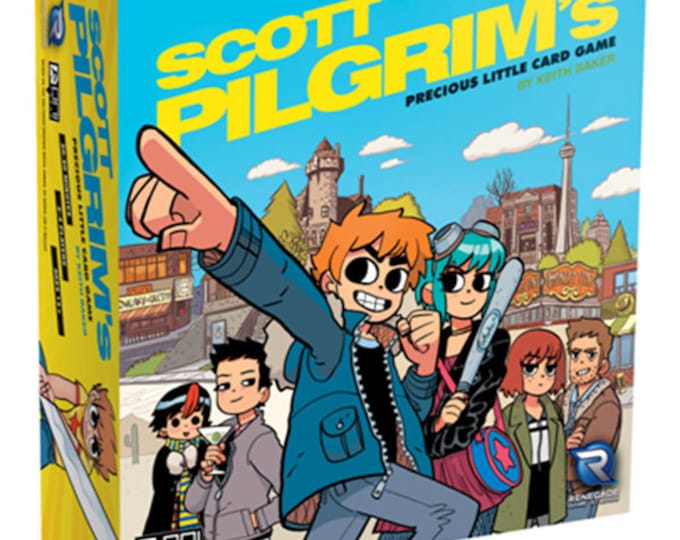 RGS0575 - Scott Pilgrim's Precious Little Card Game - Renegade Game Studios
