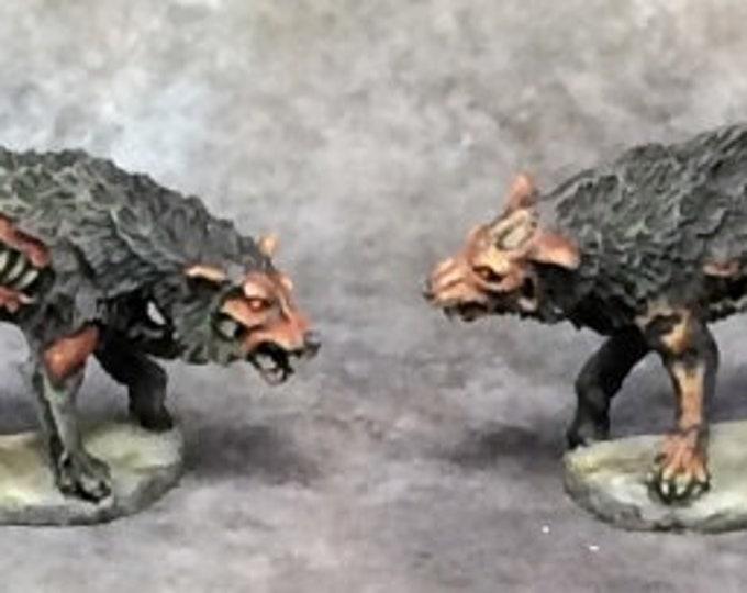 Dread Wolves (2) - 03736 - Reaper Miniatures