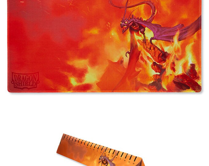 Dragon Shield: Playmat - Orange 'Usaqin', Limited Edition - ATMDSH21513 - Arcane Tinmen