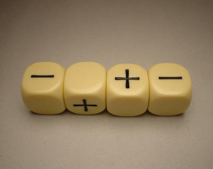 Fudge Dice: Ivory - GGG9004I - Grey Ghost Press