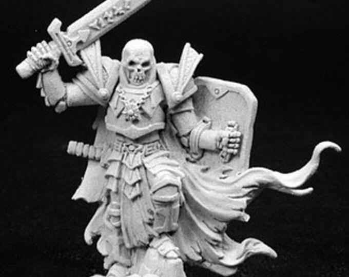 02766: Arrius the Black, Skeletal Champion - Reaper Miniatures