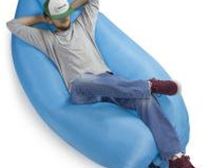 Inflatable Camping Couch, Sky - Grizzly Peak