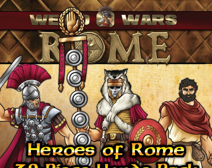Flat Pack Miniatures: Weird Wars Rome Heroes of Rome Horde - ArcKnight