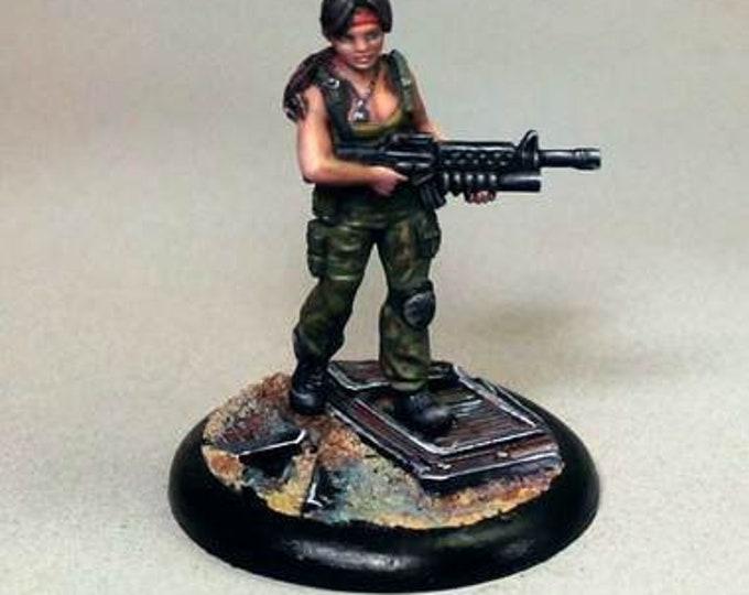 10053: Kalessa - Bombshell Miniatures