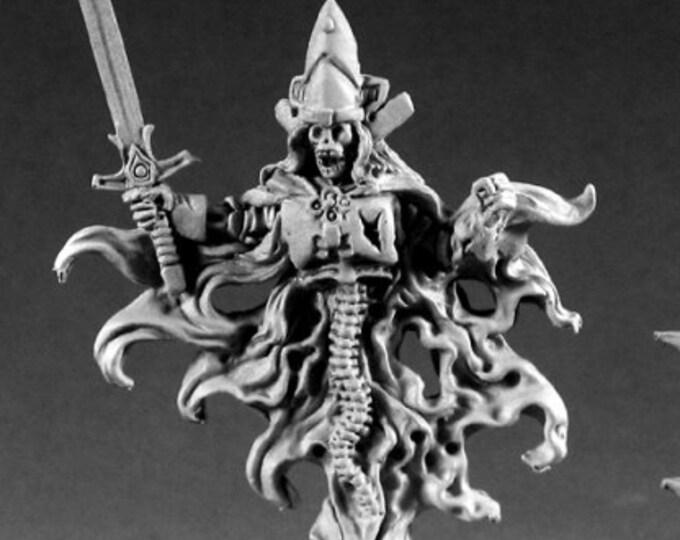 02220: Harkus Ghost King - Reaper Miniatures