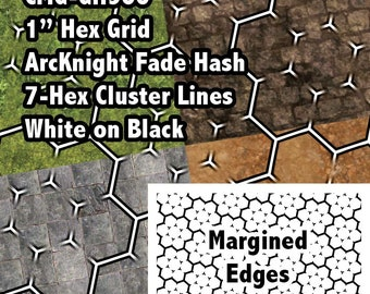 AKM Clear Map Grid Overlays - (Superclusters, Square or Hex Grid) - ArcKnight