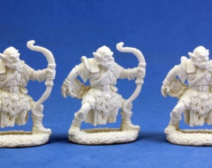 77002: Orc Archers (3) - Reaper Miniatures